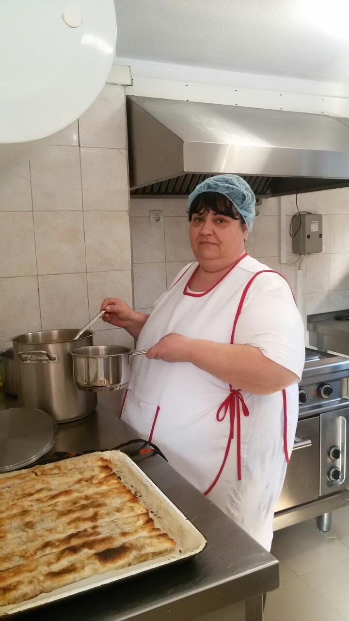 Мая Панайотова - готвач Млечна кухня